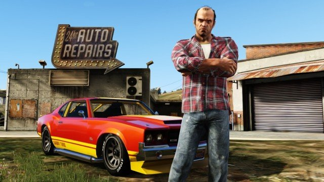 US Console Software Sales Up 52% Thanks To Grand Theft Auto V