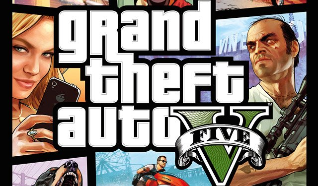 Rockstar Games Reveals Grand Theft Auto V Box Art