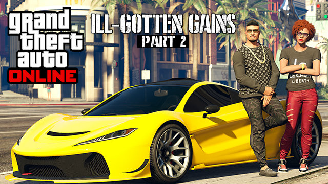 Grand Theft Auto V's Ill-Gotten Gains Part 2 Content Pack Nabs A Release Date