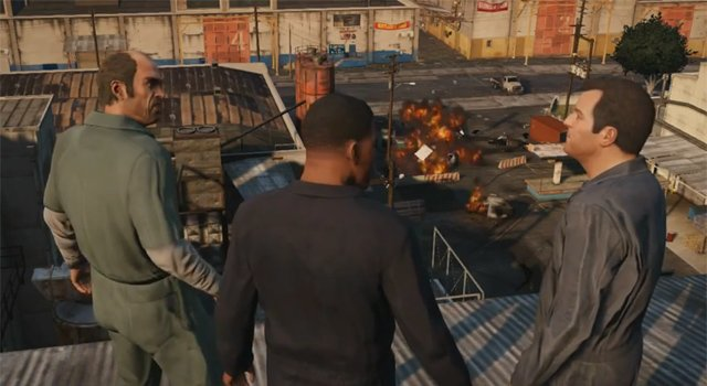 Rockstar Releases The First Official Grand Theft Auto V Gameplay Video