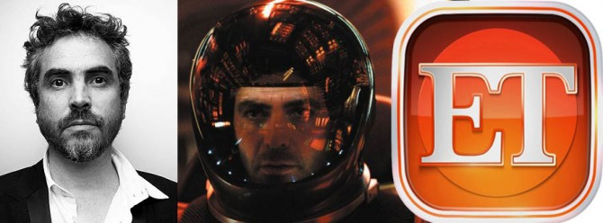 First Footage Of Alfonso Cuarón's Gravity Will Debut On Entertainment Tonight For Some Reason
