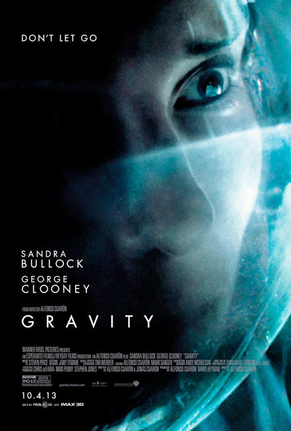 Sandra Bullock And George Clooney Get Gravity Character Posters