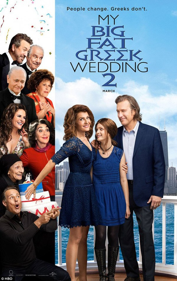 My Big Fat Greek Wedding 2 Poster Teases A Bright And Breezy Matrimonial Romp