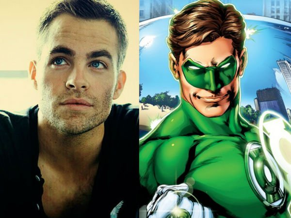Is Chris Pine About To Choose Green Lantern Over Steve Trevor?