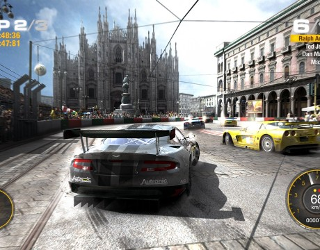 New Locales And Events Revealed In GRID 2 Video