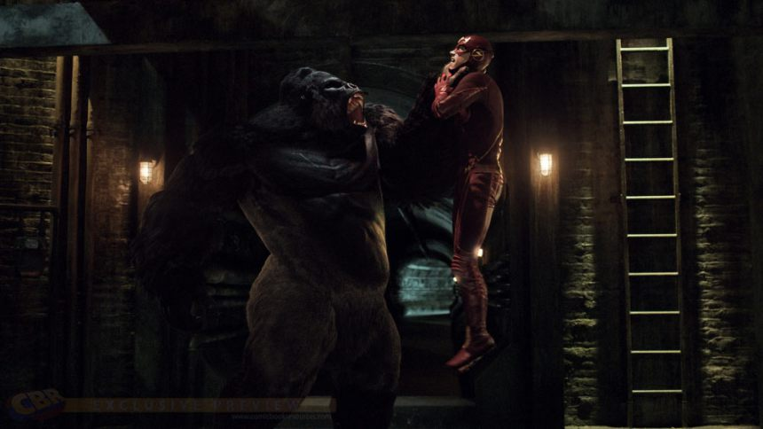 Gorilla Grodd Revealed In New Photos And Promo For The Flash
