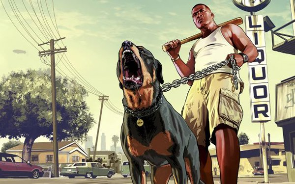 gta v chop Grand Theft Auto V Will Feature Customizable Dogs