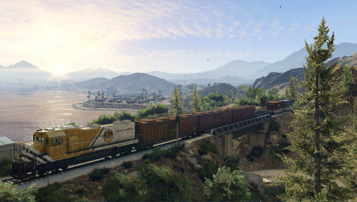 New PC Images For Grand Theft Auto V Showcase Los Santos Like You've Never Seen It Before