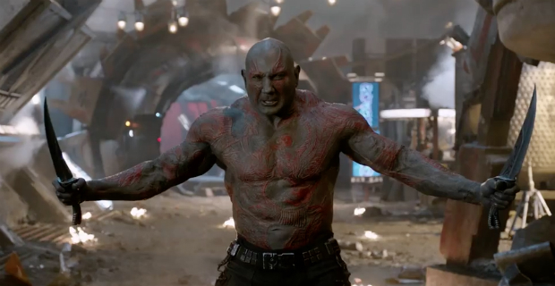 "Dave Bautista Promises ""A Lot More Drax"" In Guardians Of The Galaxy Vol. 2"
