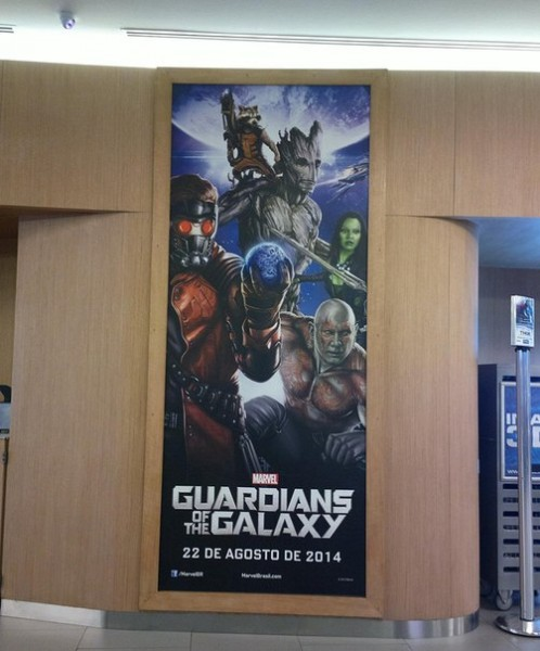 Guardians Of The Galaxy Promo Poster Spotted