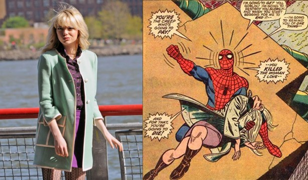 Someone's Outfit May Have Spoiled The Amazing Spider-Man 2