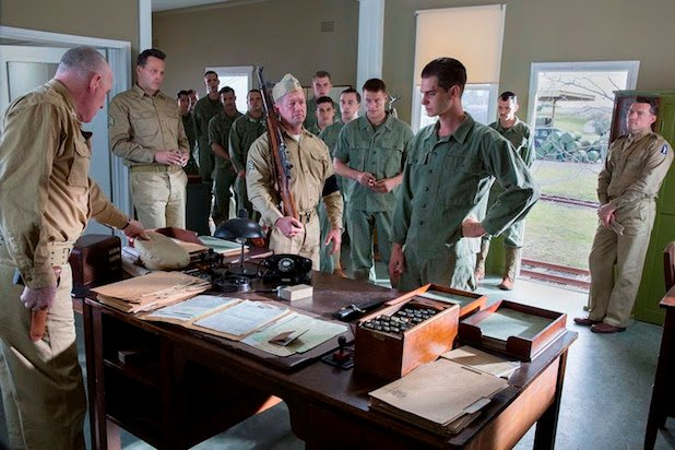 First Look At Andrew Garfield In Mel Gibson's WWII Drama Hacksaw Ridge