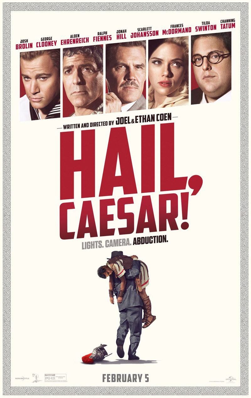 Hail, Caesar! TV Spot And Poster Scream Lights, Camera, Abduction!