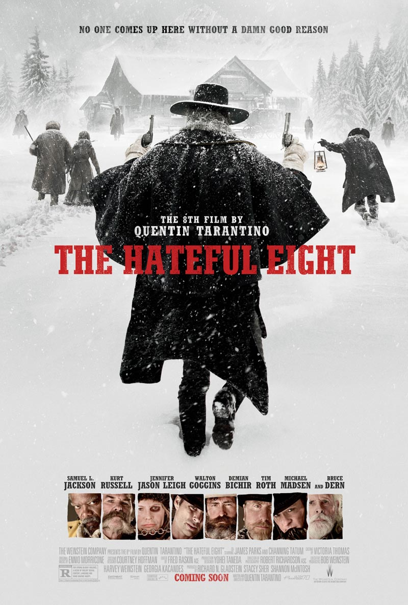 The Hateful Eight Cast Details 70mm Release And Roadshows In New Featurette