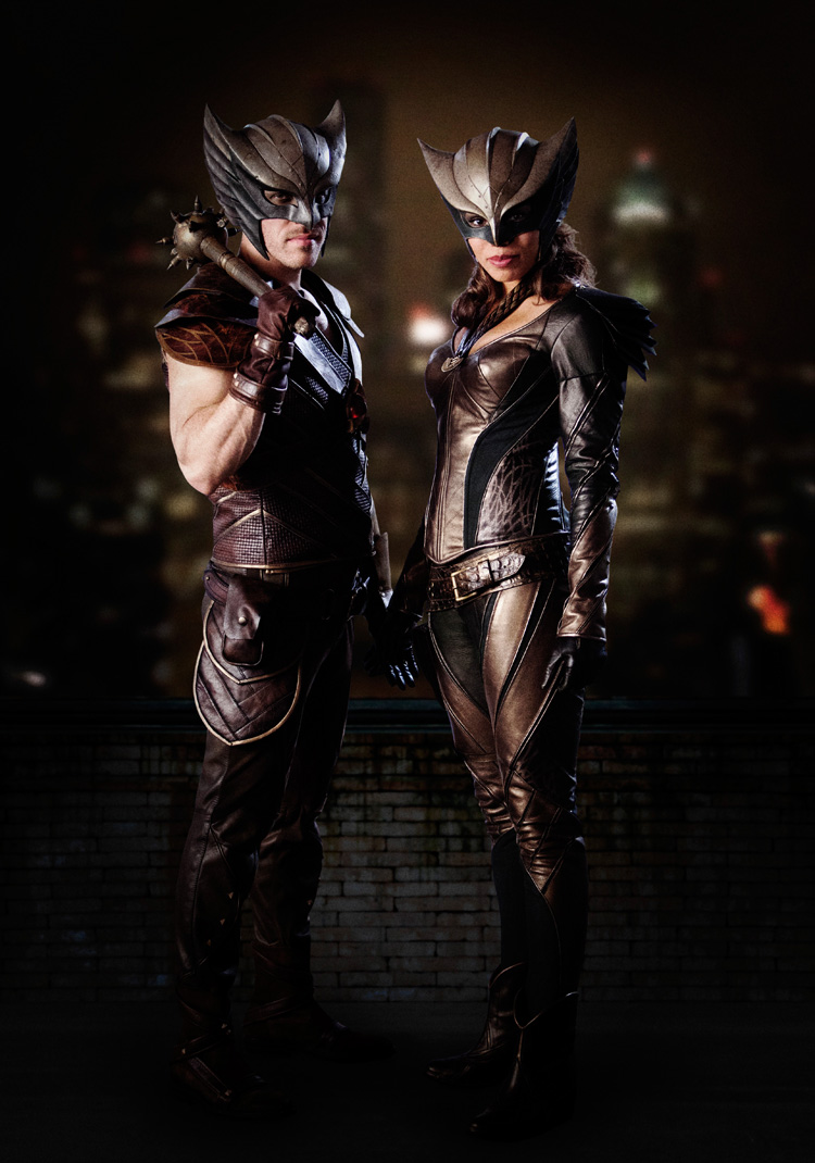 First Look At Hawkman And Hawkgirl From DC's Legends Of Tomorrow