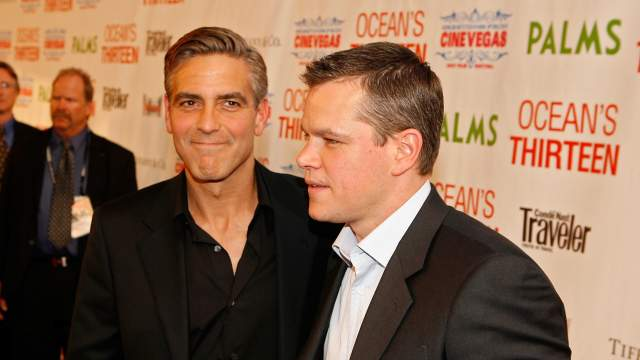 Matt Damon Will Be One Of The Monuments Men For George Clooney