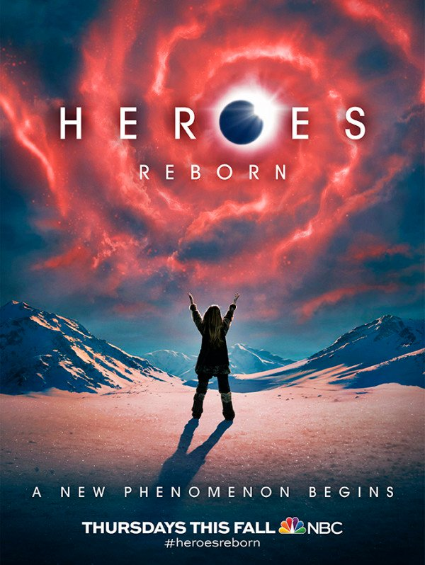 A New Phenomenon Begins In The First Poster For Heroes Reborn