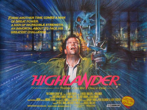 highlander quad poster 479x360 Highlander Reboot To Be Directed By Cedric Nicolas Troyan