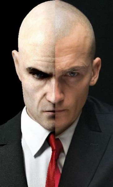 Hitman: Agent 47 Image Compares Rupert Friend To The Video Game Antihero