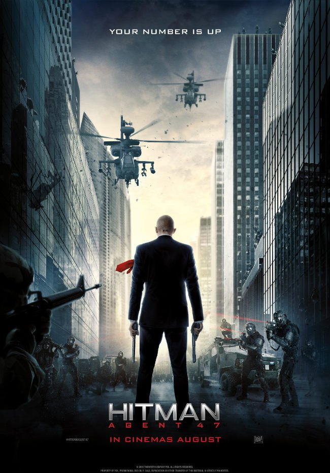 Rupert Friend Is A One-Man Army In New Poster For Hitman: Agent 47
