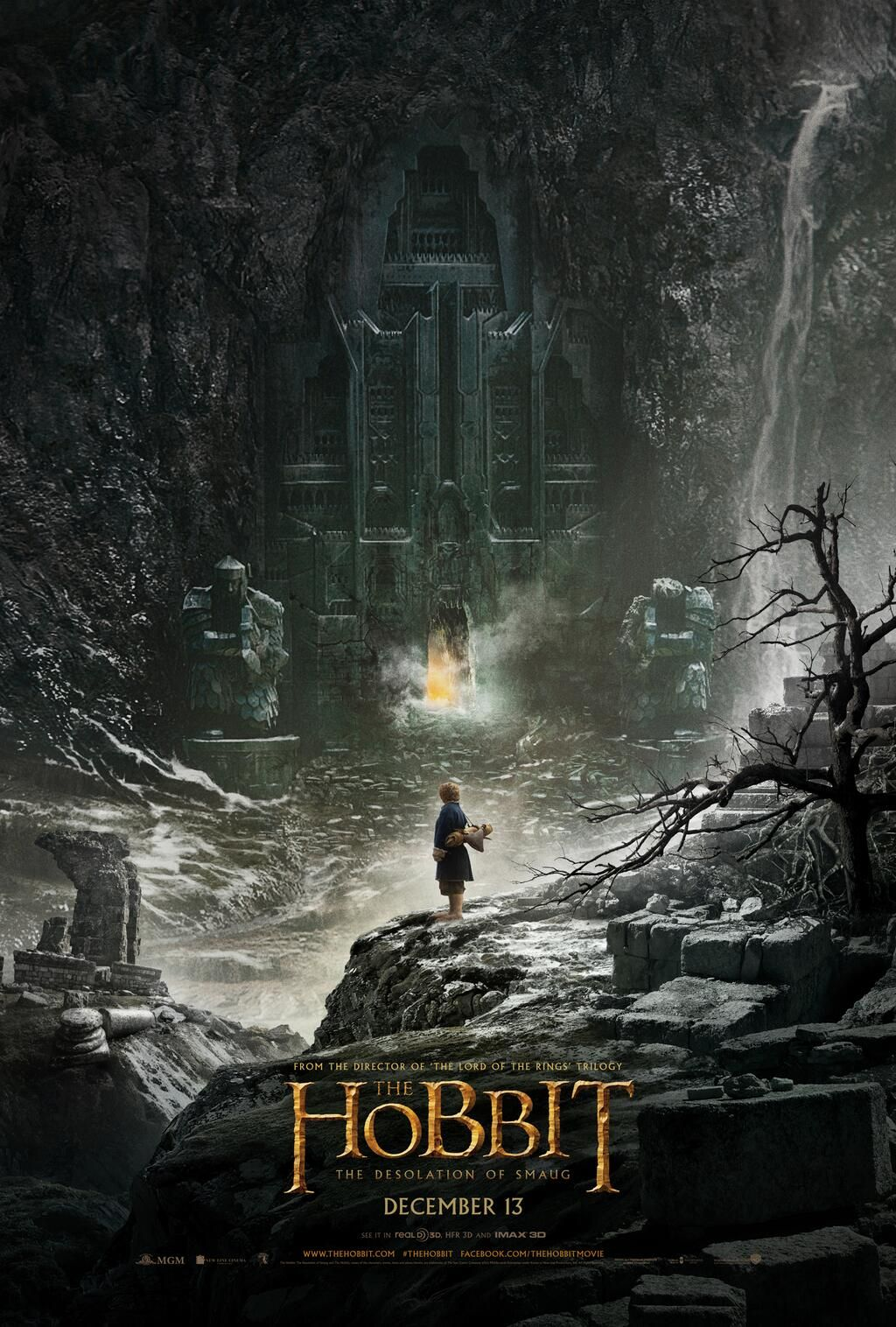 hobbit desolation smaug poster The Hobbit: The Desolation Of Smaug Gallery