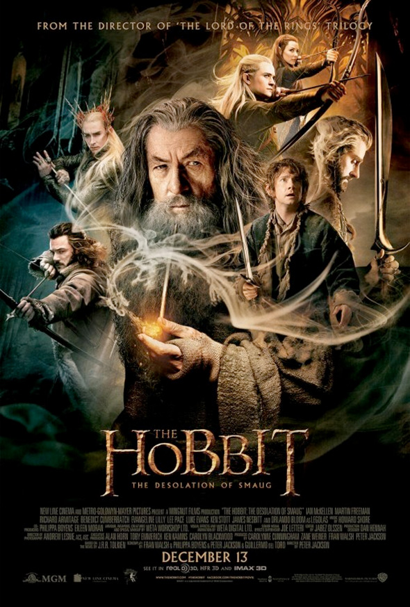 hobbit2 finalposter full The Hobbit: The Desolation Of Smaug Gallery