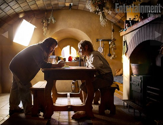 First Official Look At Martin Freeman In Peter Jackson's The Hobbit