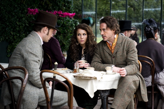 New Photos Of Sherlock Holmes: A Game Of Shadows