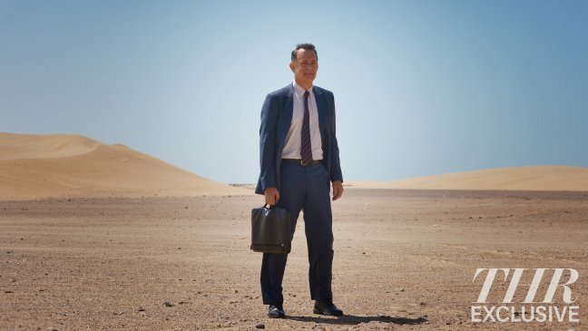 Tom Hanks Is Lost In The Desert In First Image From A Hologram For The King