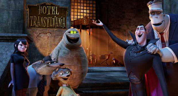 Full Length Trailer For Adam Sandler's Hotel Transylvania