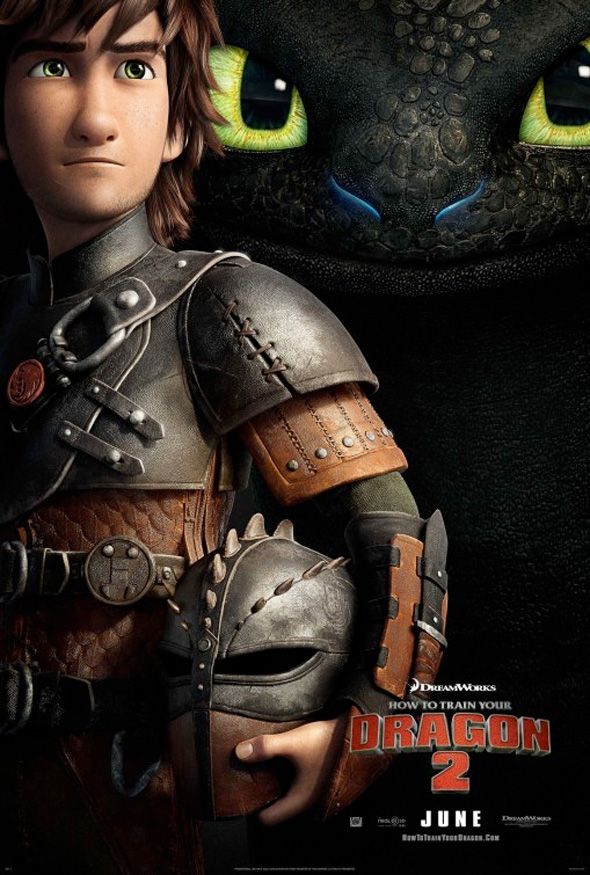 How To Train Your Dragon 2 Gets A Teaser Poster