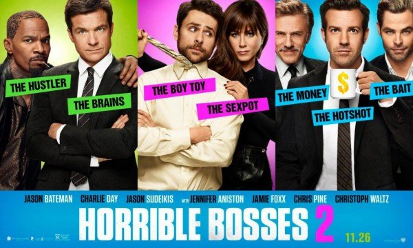 It's A Bad Day At The Office In New Banner Poster For Horrible Bosses 2