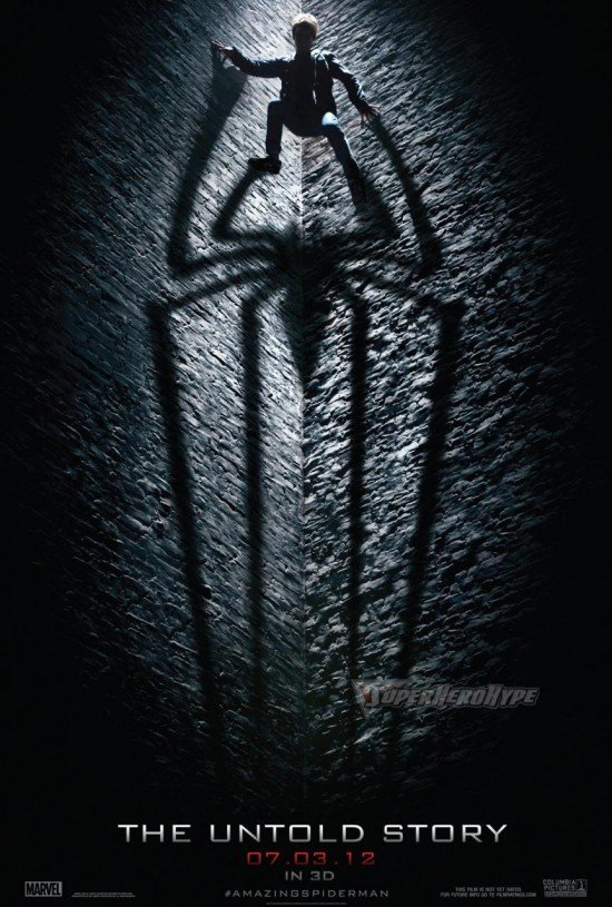 First Teaser Poster For The Amazing Spider-Man