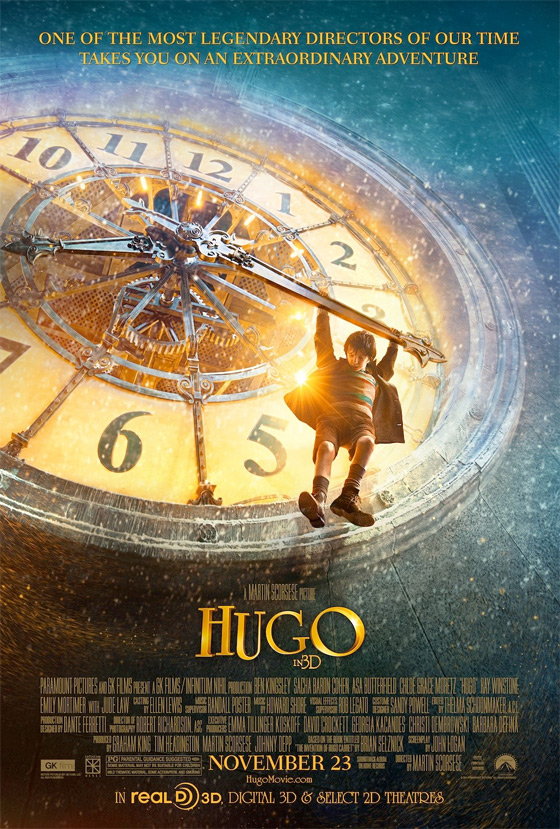 Two Mystical Posters For Martin Scorsese's Hugo
