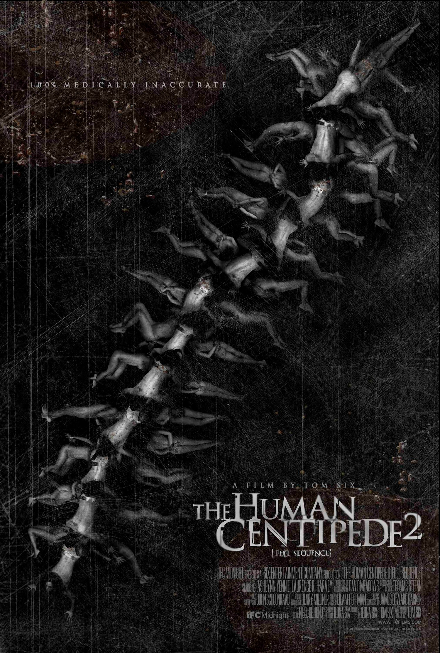 First Poster For The Human Centipede 2 Emerges