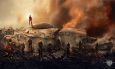 Witness The Fall Of A Dictator In Striking The Hunger Games: Mockingjay – Part 2 Banner