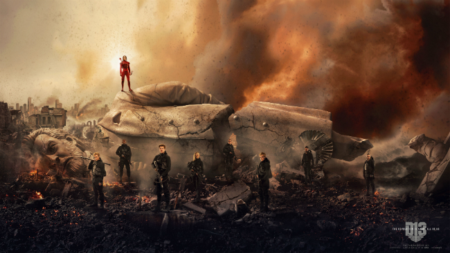 Witness The Fall Of A Dictator In Striking The Hunger Games: Mockingjay - Part 2 Banner