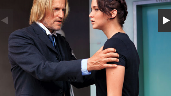 hunger games woody harelson jennifer lawrence 570x426 570x321 New TV Spot And Pictures From The Hunger Games