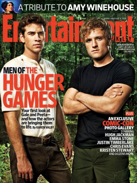 First Image Of Josh Hutcherson And Liam Hemsworth In The Hunger Games