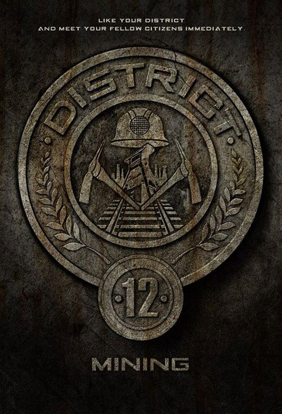 Five District Seals From The Hunger Games Released