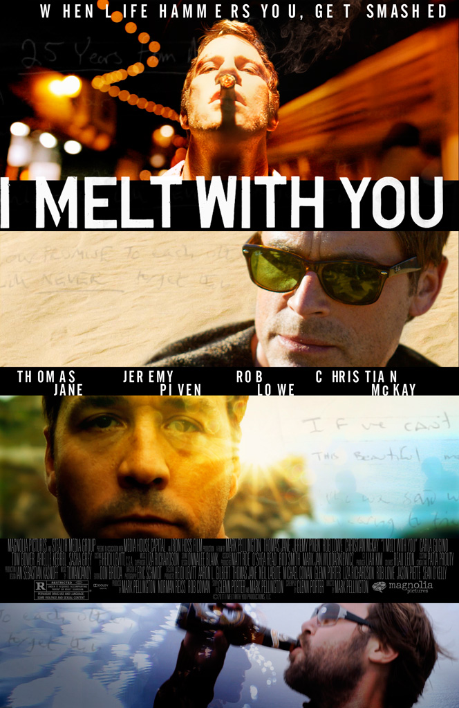 I Melt With You Poster Is Covered With Badasses