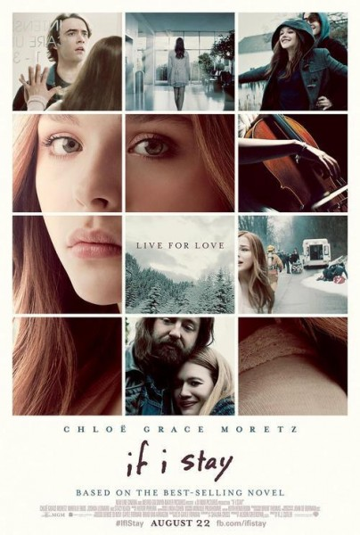 if i stay poster 404x600 Check Out The Rousing Prologue Trailer For If I Stay, With Chloë Grace Moretz