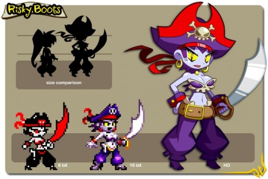 Risky Boots Could Be Playable In Shantae: Half-Genie Hero