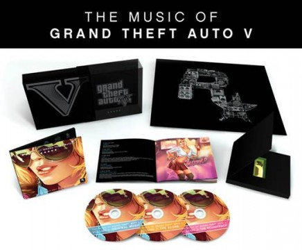 Grand Theft Auto V Soundtrack To Receive A Limited Edition Physical Release