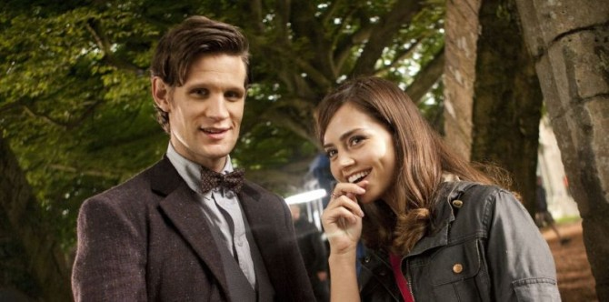 Doctor Who Meets His New Companion In First Photo From Season 7