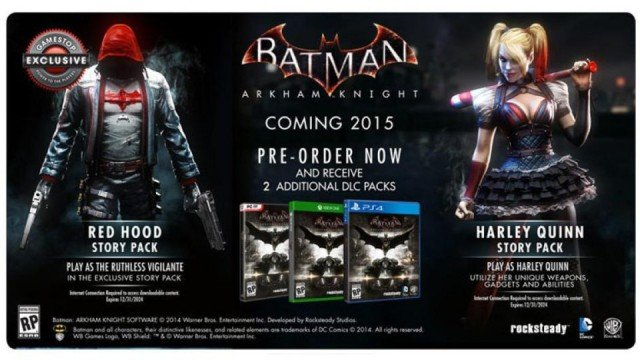Red Hood Comes To Batman: Arkham Knight In Exclusive GameStop DLC
