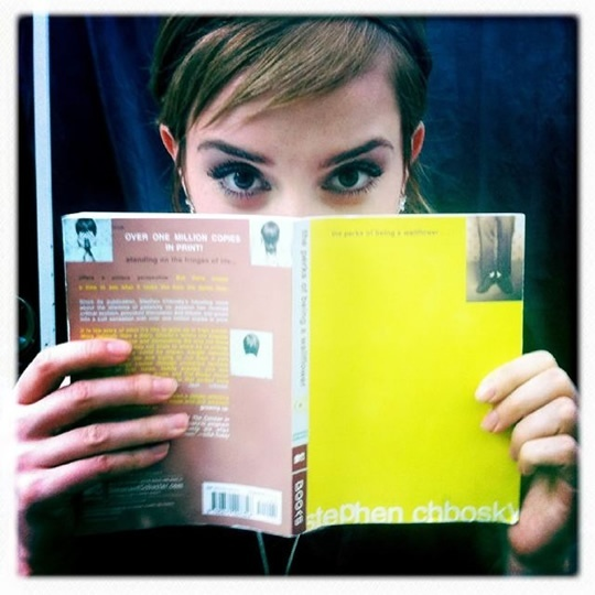 First Look At Emma Watson In The Perks Of Being A Wallflower