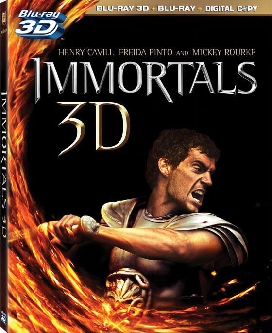 Fox Announces Immortals For 2D And 3D Blu-Ray In March