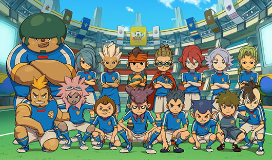 Inazuma Eleven Can Now Be Downloaded From The 3DS' eShop