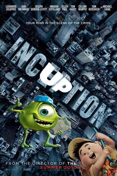 Inception Meets Up and Monsters Inc.